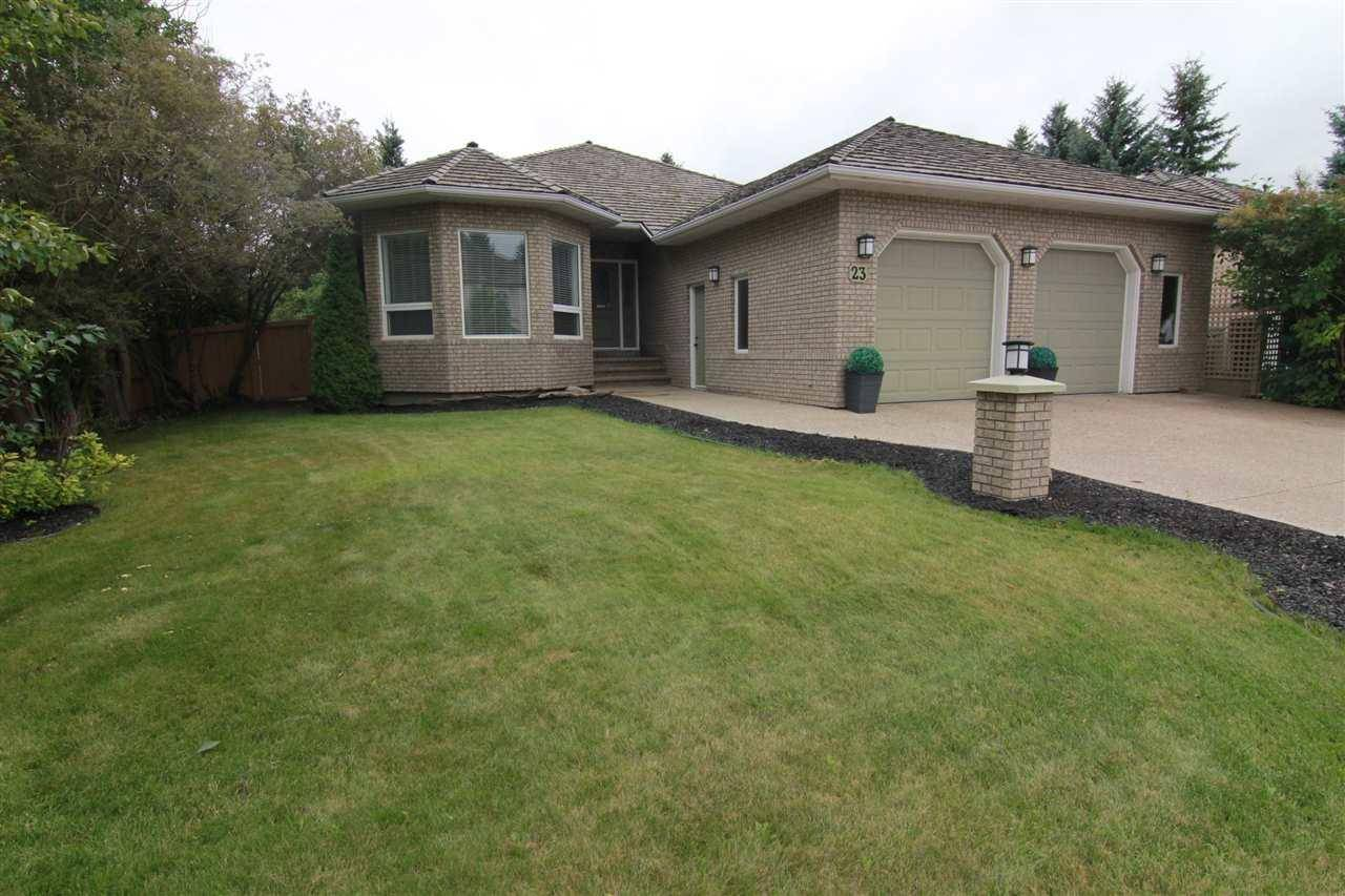 House for sale at 23 Estate Cres St. Albert Alberta - MLS: E4174148