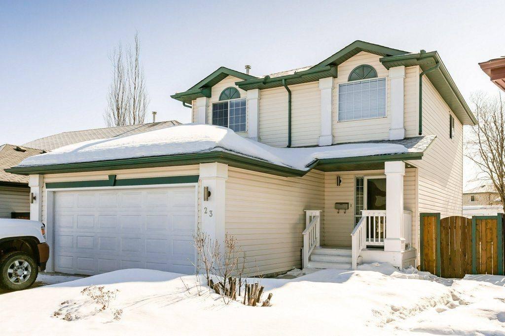 House for sale at 23 Heatherglen Cres S Spruce Grove Alberta - MLS: E4192231