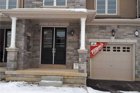 Townhouse for sale at 23 Heming Tr Hamilton Ontario - MLS: X4655406