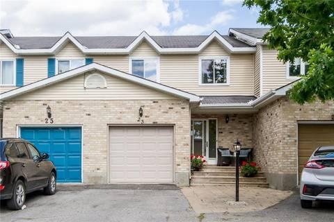 Townhouse for sale at 23 Kathleen Cres Ottawa Ontario - MLS: 1161048
