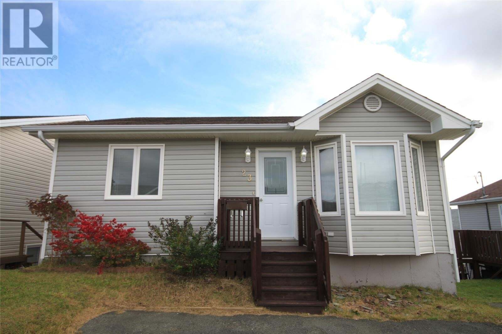 House for sale at 23 Kelland Cres St. John's Newfoundland - MLS: 1222464