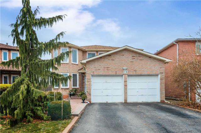 For Sale: 23 Pilkington Crescent, Vaughan, ON   4 Bed, 5 Bath House for $1,099,000. See 20 photos!