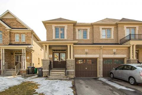 Townhouse for sale at 23 Pomell Tr Brampton Ontario - MLS: W4386686