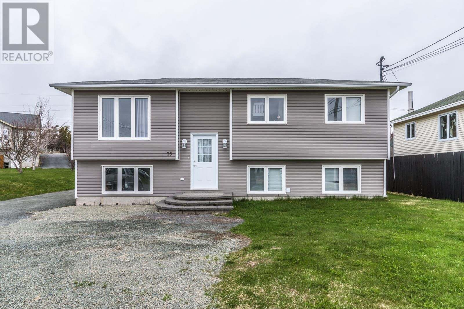 House for sale at 23 Reardons Ln Torbay Newfoundland - MLS: 1217077