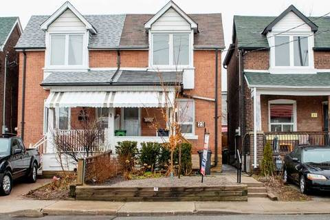 Townhouse for sale at 23 Sibley Ave Toronto Ontario - MLS: E4734012