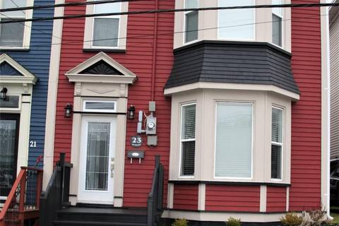 House for sale at 23 Sudbury St St. John's Newfoundland - MLS: 1195857