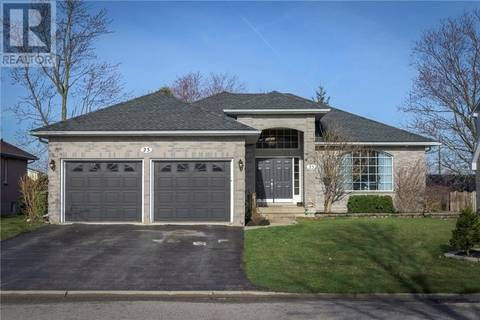 House for sale at 23 Trevithick Te St. Thomas Ontario - MLS: 187998