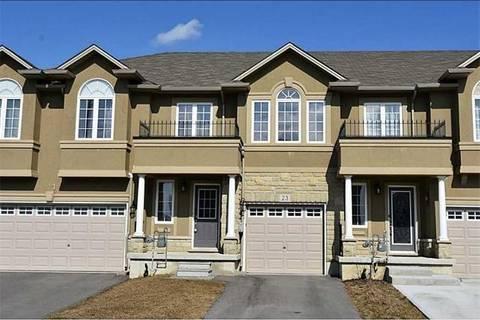 Townhouse for sale at 23 Waterbridge St Hamilton Ontario - MLS: X4594604