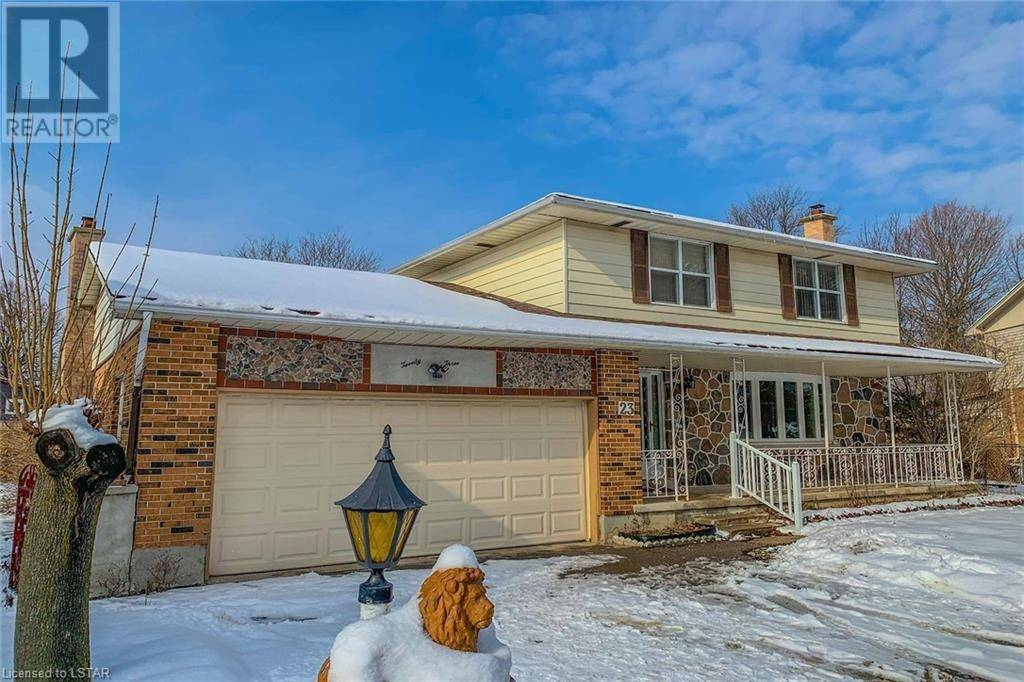 House for sale at 23 Wentworth Ct London Ontario - MLS: 243683