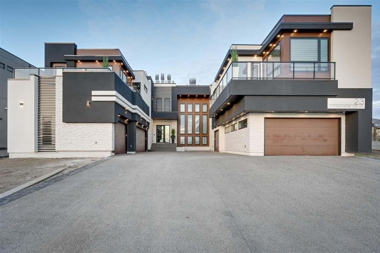 House for sale at 23 Windermere Dr SW Edmonton Alberta - MLS: E4173426