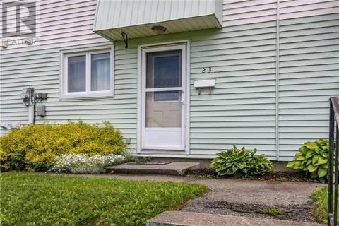 House for sale at 23 Woodside Pk Saint John New Brunswick - MLS: NB028061