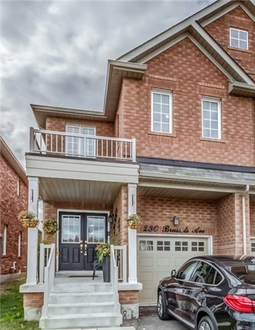 For Sale: 230 Brussels Avenue, Brampton, ON | 3 Bed, 4 Bath Townhouse for $699,000. See 20 photos!