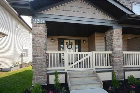 Townhouse for sale at 230 Kingsbridge Rd Southeast Airdrie Alberta - MLS: C4255517