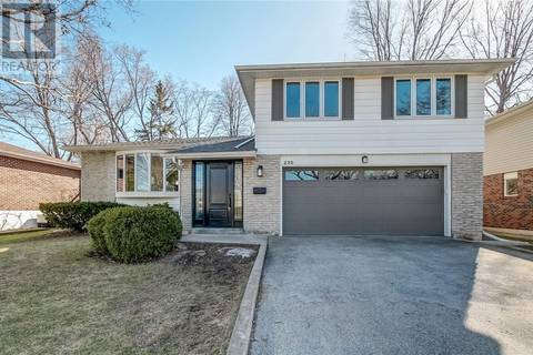 House for sale at 230 Sunray Rd Oakville Ontario - MLS: 30736873