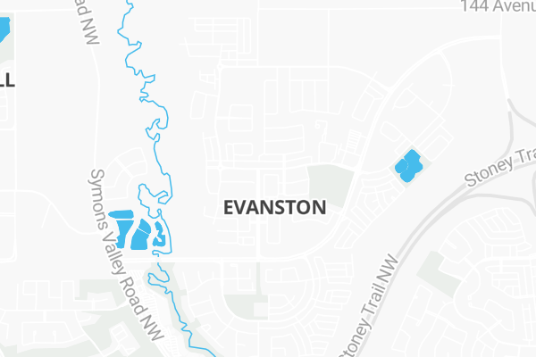 Evanston Subway Map.205 2300 Evanston Square Northwest Calgary Ab T3p 0g8