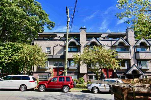 Townhouse for sale at 2302 Vine St Vancouver British Columbia - MLS: R2400975
