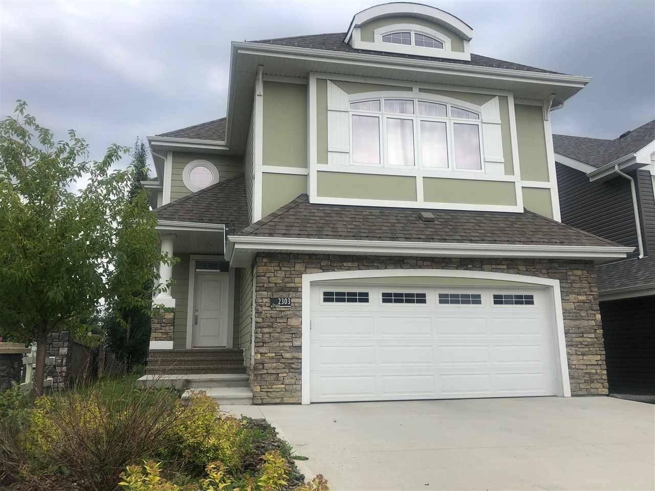 House for sale at 2303 Sparrow Cres Nw Edmonton Alberta - MLS: E4170071