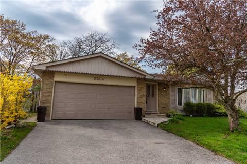 House for sale at 2304 Devon Rd Oakville Ontario - MLS: W4453008