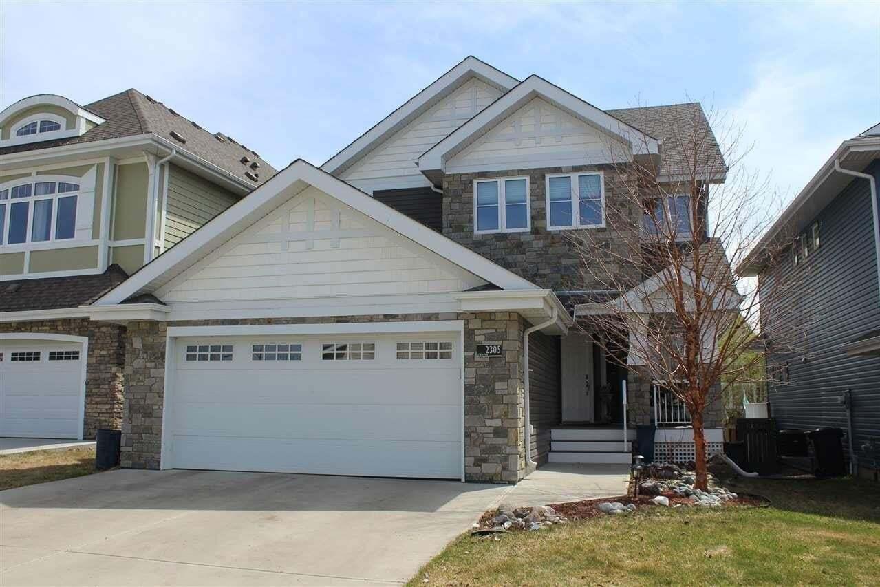 House for sale at 2305 Sparrow Cr NW Edmonton Alberta - MLS: E4196822