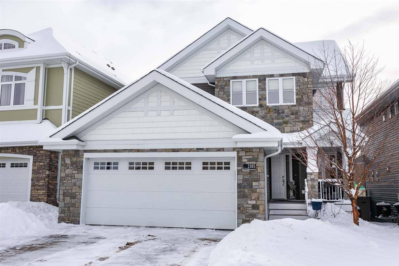 House for sale at 2305 Sparrow Cres Nw Edmonton Alberta - MLS: E4185118