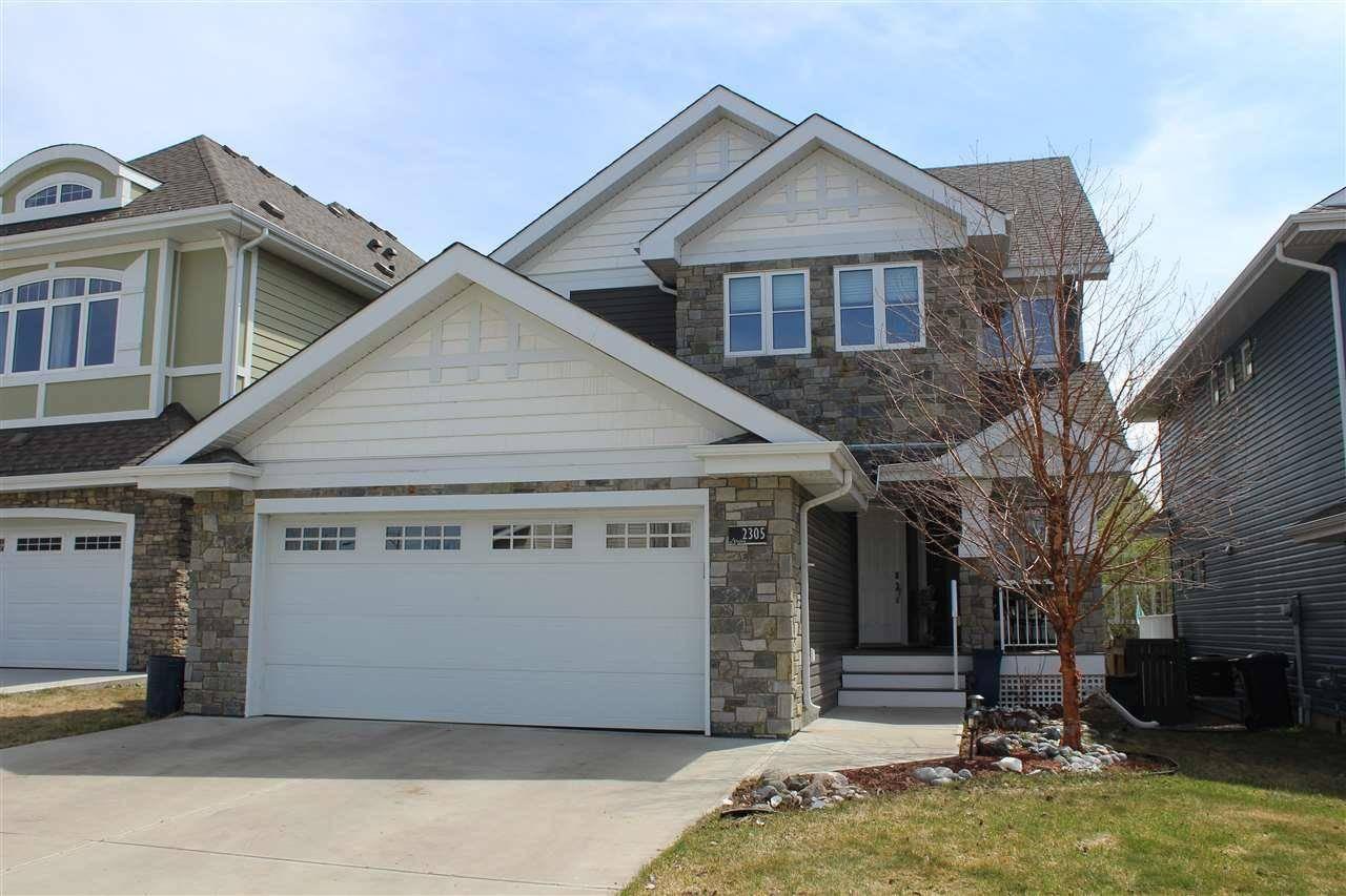 House for sale at 2305 Sparrow Cres Nw Edmonton Alberta - MLS: E4190824