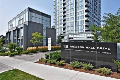 Apartment for rent at 18 Graydon Hall Dr Unit 2306 Toronto Ontario - MLS: C4648008