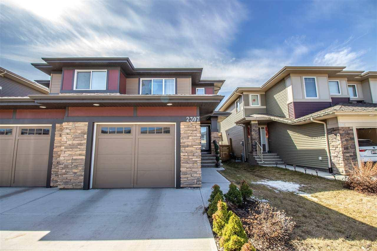 Townhouse for sale at 2307 Ware Cres Nw Edmonton Alberta - MLS: E4165516