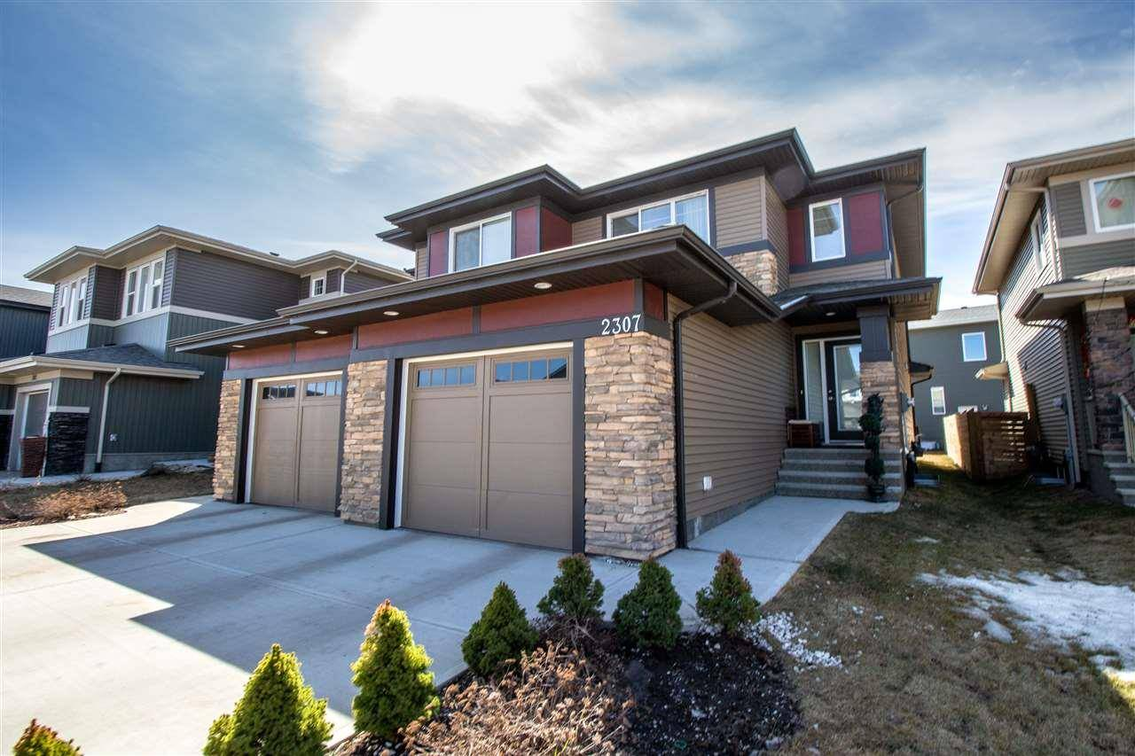 Townhouse for sale at 2307 Ware Cres Nw Edmonton Alberta - MLS: E4190295