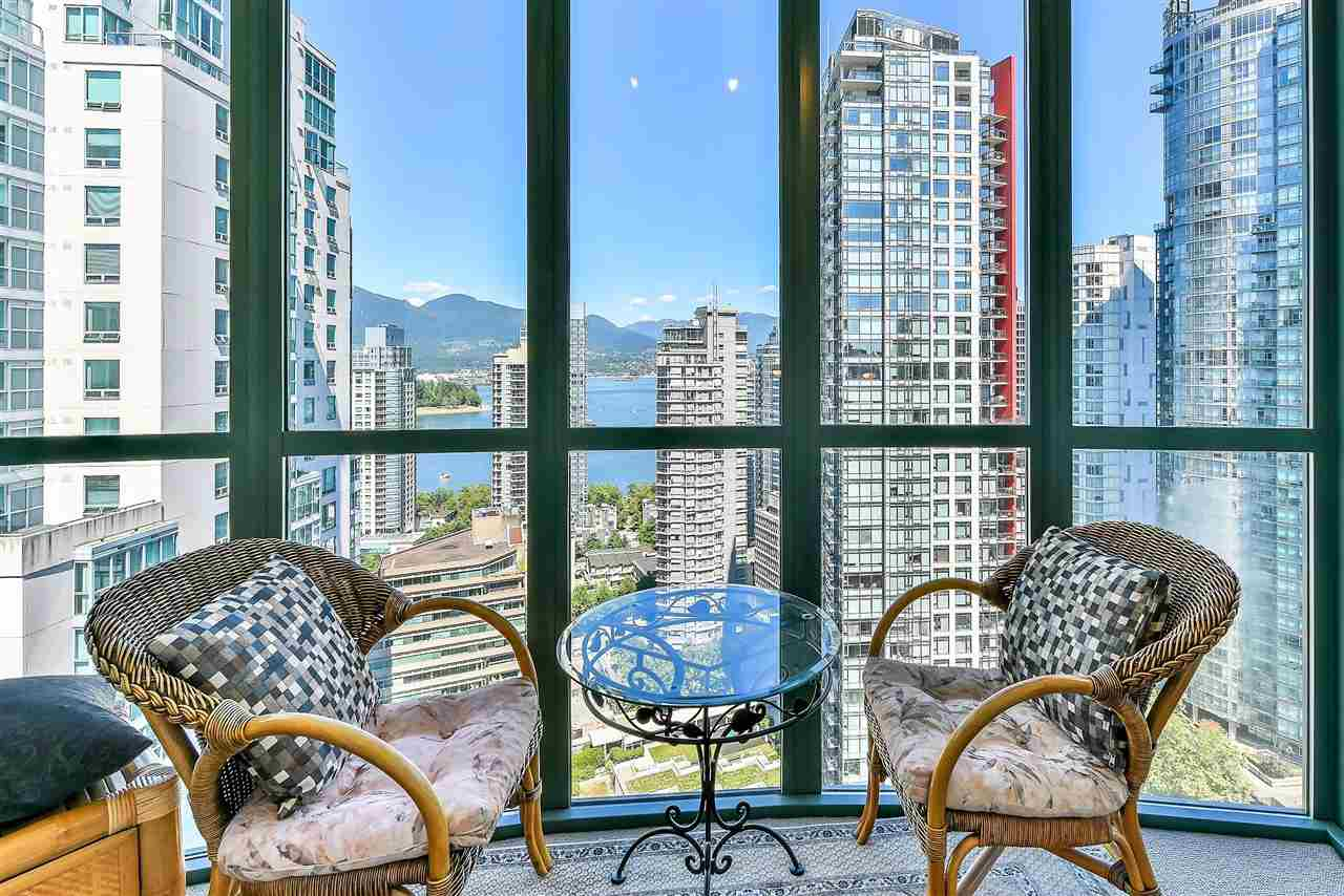 For Sale: 2308 - 1239 W Georgia Street, Vancouver, BC | 1 Bed, 1 Bath Condo for $880,000. See 20 photos!