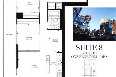 Apartment for rent at 426 University Ave Unit 2308 Toronto Ontario - MLS: C4738053