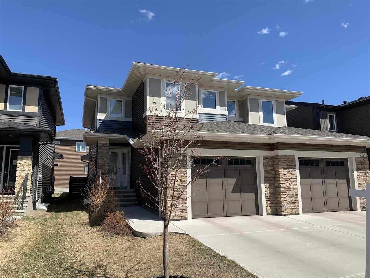Townhouse for sale at 2308 Ware Cres Nw Edmonton Alberta - MLS: E4191886