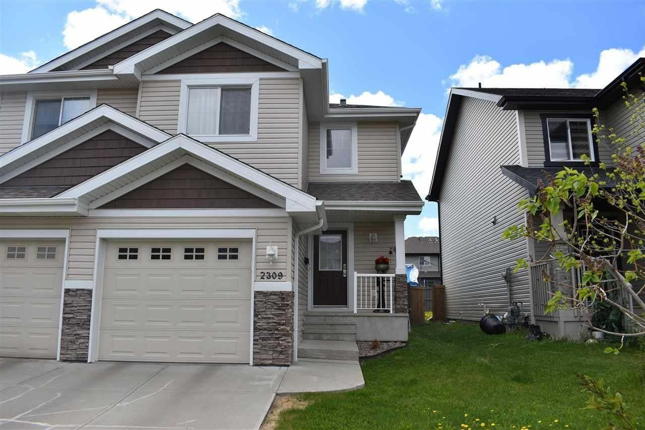 Townhouse for sale at 2309 Casselman Cr SW Edmonton Alberta - MLS: E4199422