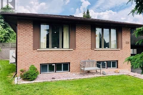 House for sale at 231 Autumnwood Cres Sudbury Ontario - MLS: 2077458