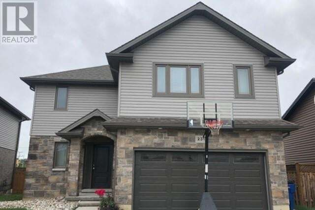 House for sale at 231 Bristol Dr Chatham Ontario - MLS: 20007632