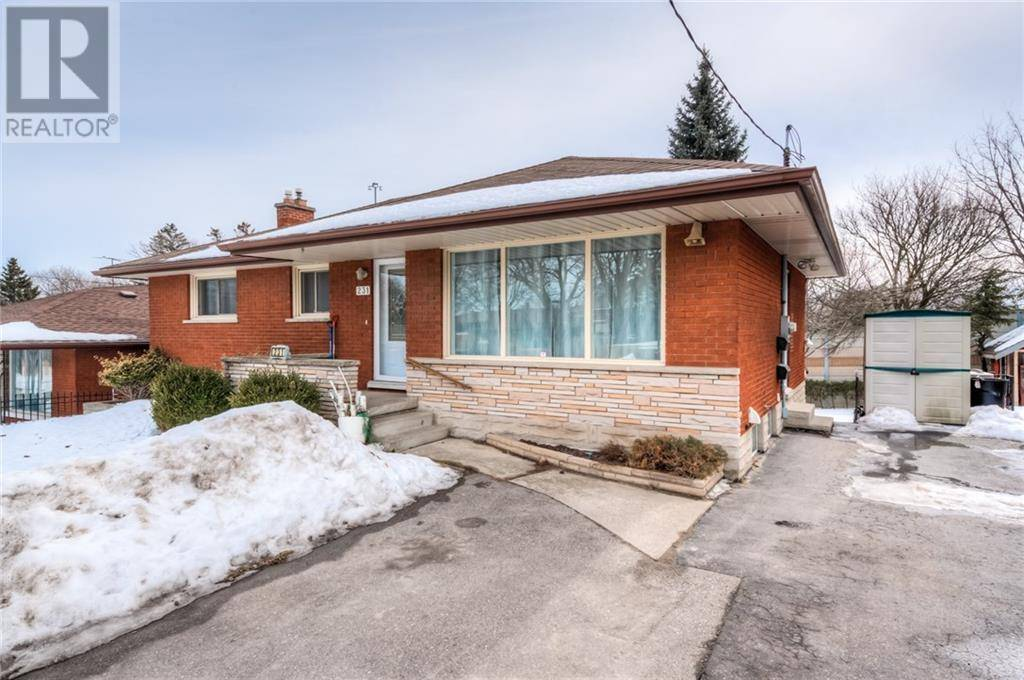 House for rent at 231 Dixon St Kitchener Ontario - MLS: 30793347