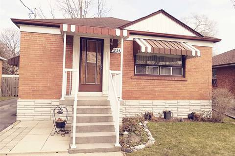 House for sale at 231 Hallmark Ave Toronto Ontario - MLS: W4728496