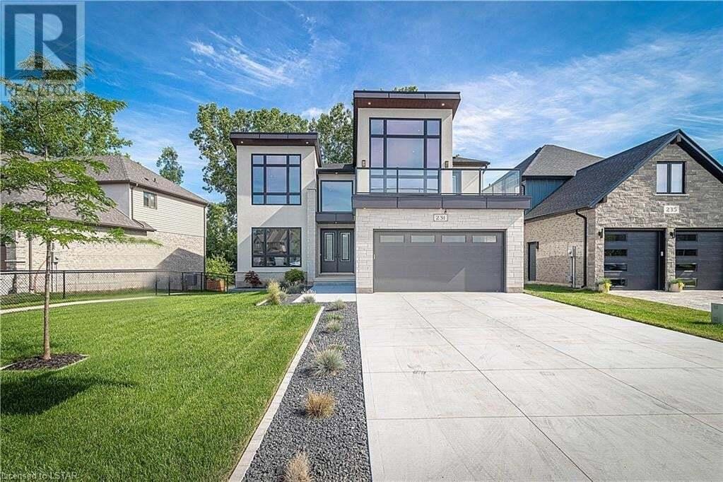 House for sale at 231 Union Ave Komoka Ontario - MLS: 270943