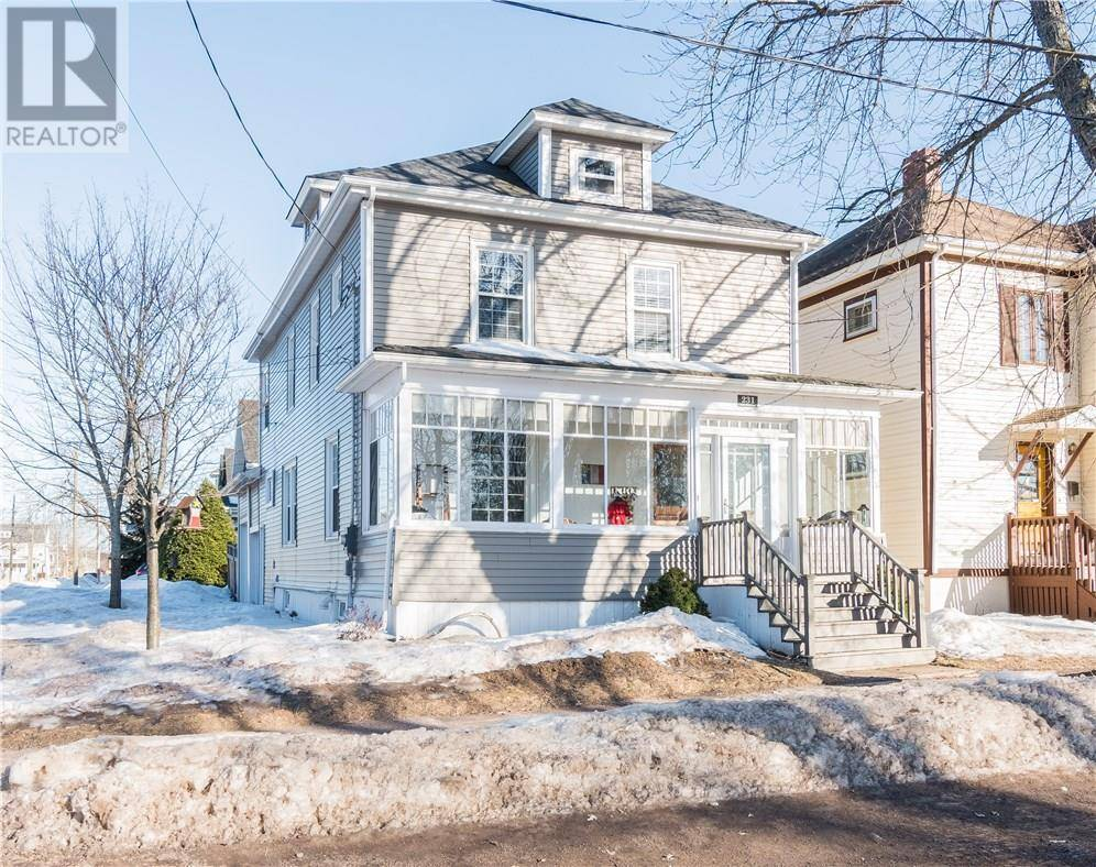 House for sale at 231 Weldon St Moncton New Brunswick - MLS: M126253