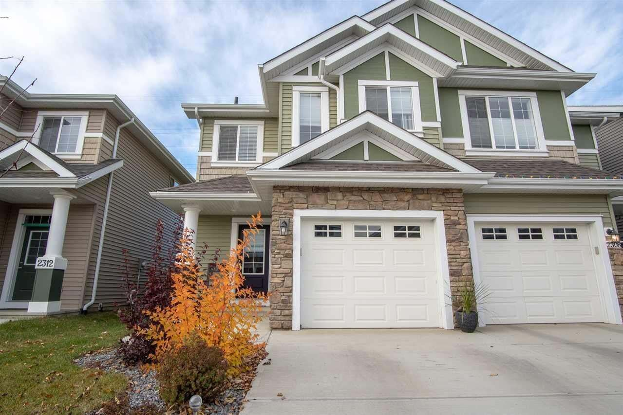 Townhouse for sale at 2310 86 St SW Edmonton Alberta - MLS: E4178198