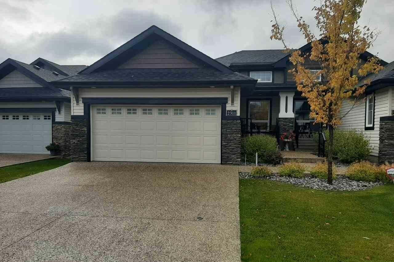 Townhouse for sale at 2311 Ashcraft Cape Ca SW Edmonton Alberta - MLS: E4183957