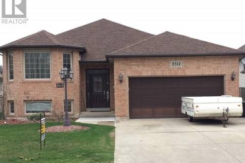 House for sale at 2312 Amy Lynn Park  Windsor Ontario - MLS: 19016573