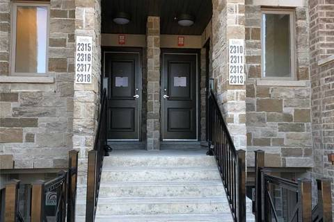 Apartment for rent at 20 Westmeath Ln Unit 2313 Markham Ontario - MLS: N4605749