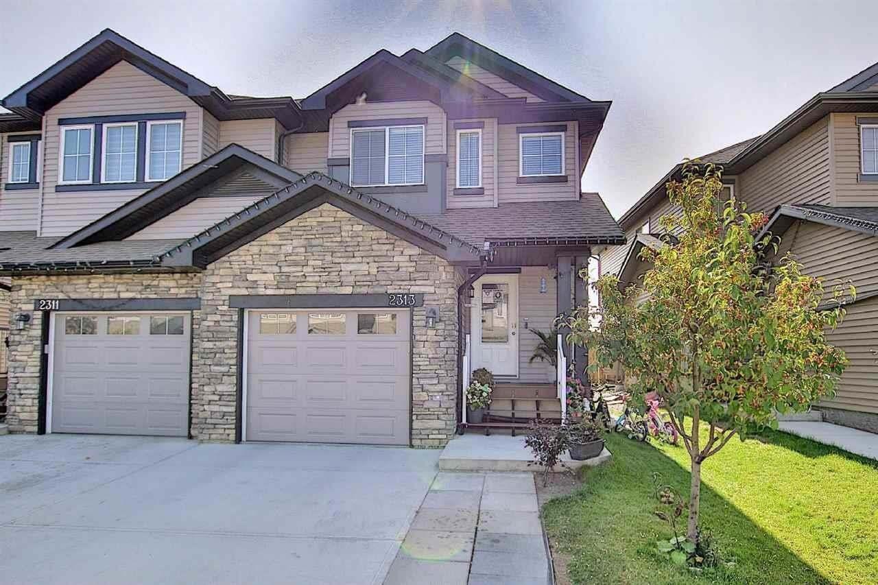 Townhouse for sale at 2313 22 Av NW Edmonton Alberta - MLS: E4214653