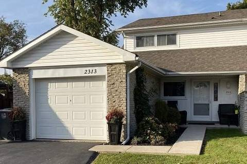 Townhouse for sale at 2313 Delkus Cres Mississauga Ontario - MLS: W4573769