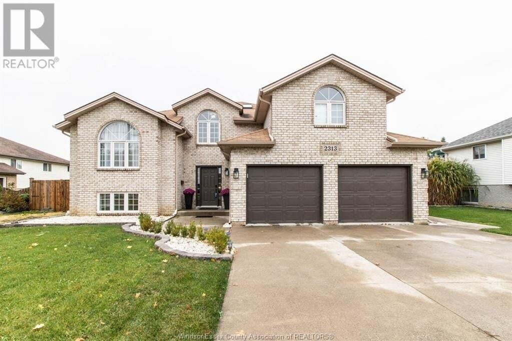 House for sale at 2313 Lesperance  Tecumseh Ontario - MLS: 20014265