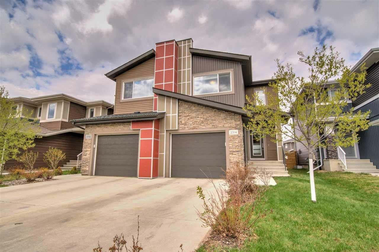 Townhouse for sale at 2314 Ware Cres NW Edmonton Alberta - MLS: E4197242