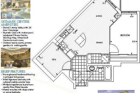 Apartment for rent at 80 Harrison Garden Blvd Unit 2315 Toronto Ontario - MLS: C4461947