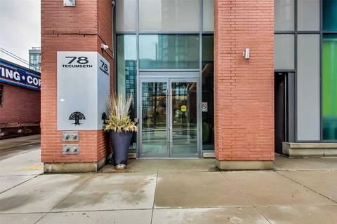 Condo for sale at 78 Tecumseth St Unit 232 Toronto Ontario - MLS: C4734809
