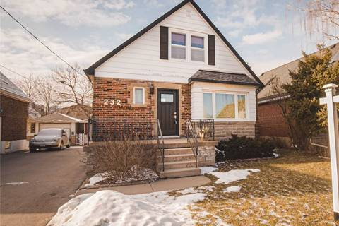 House for sale at 232 Holmesdale Ave Hamilton Ontario - MLS: X4693560