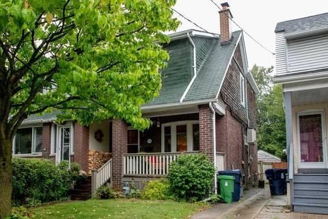 Townhouse for rent at 232 Milverton Blvd Toronto Ontario - MLS: E4598082